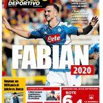 Napoli, Fabian Ruiz è l'obiettivo principale a centrocampo del Barcellona